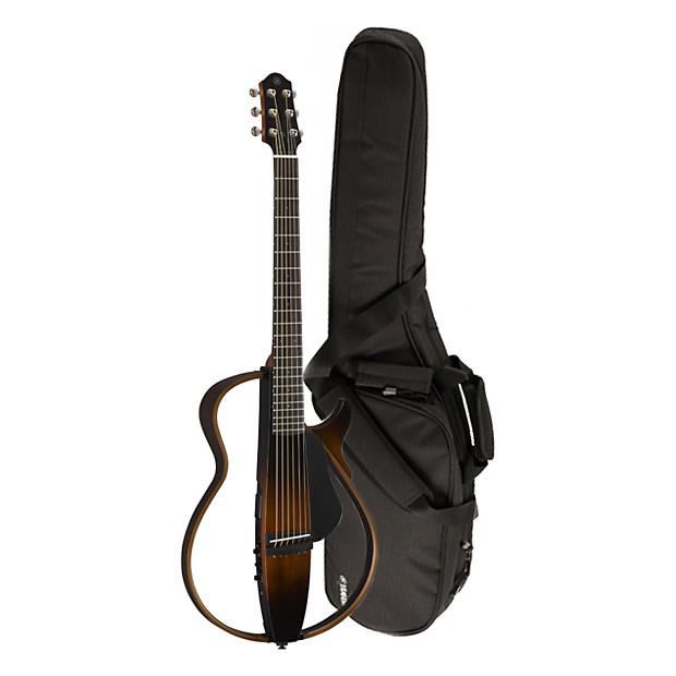 2015 yamaha slg200s tbs steel string silent guitar with for Yamaha slg200s steel string silent guitar