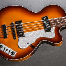 Hofner Ignition Club Bass Recent Sunburst image