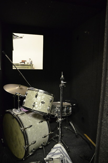 Professional Iso Booth Whisper Room 5 X7 Fits Drums