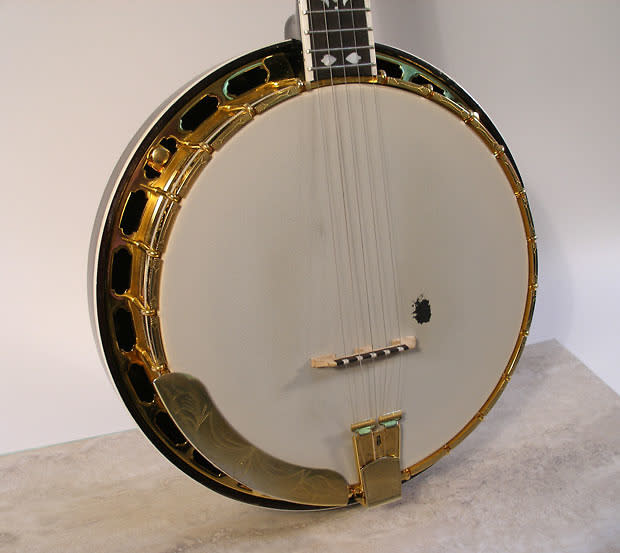 2164550 Flinthill 5 String Banjo Resonator Gold Fhb 297 W Hardshell Case as well Vintage Harmony Marquis 5 String Banjo Eagle Back EBay additionally Search in addition Banjos Are Back At Baxter L To R In The Top as well 60134. on flinthill banjo