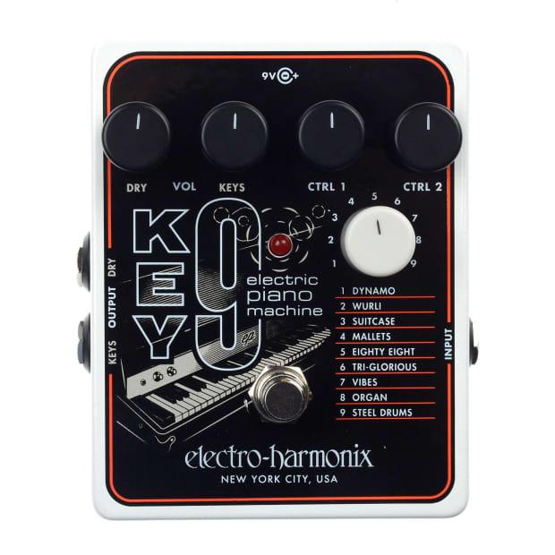 electro harmonix key 9 electric piano machine reverb. Black Bedroom Furniture Sets. Home Design Ideas