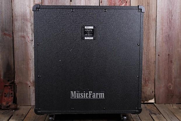 crate g412st straight electric guitar speaker cabinet 120 reverb. Black Bedroom Furniture Sets. Home Design Ideas