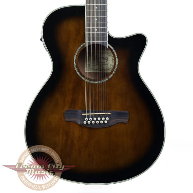 brand new ibanez aeg1812ii 12 string acoustic electric guitar reverb. Black Bedroom Furniture Sets. Home Design Ideas