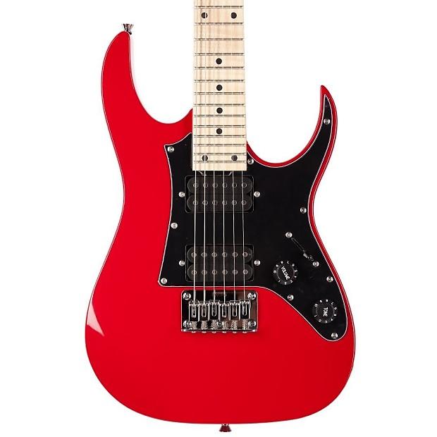 ibanez grgm21m mikro electric guitar red reverb. Black Bedroom Furniture Sets. Home Design Ideas