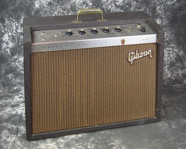 exc vintage gibson ga19rvt falcon electric guitar amp made reverb. Black Bedroom Furniture Sets. Home Design Ideas