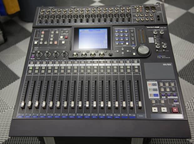 Digital Mixer Tascam : tascam dm24 digital mixer reverb ~ Russianpoet.info Haus und Dekorationen