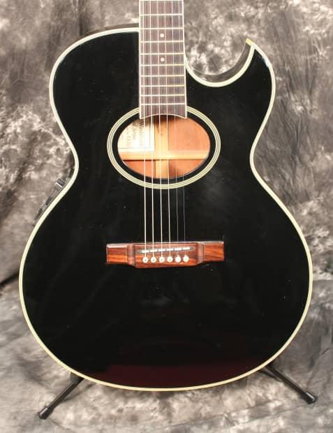 1995 washburn festival ea20b black acoustic electric guitar reverb. Black Bedroom Furniture Sets. Home Design Ideas
