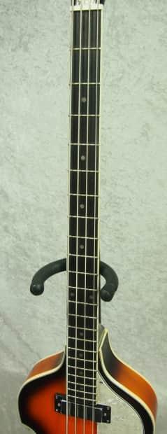 jay turser jtb 2b electric bass guitar in sunburst reverb. Black Bedroom Furniture Sets. Home Design Ideas