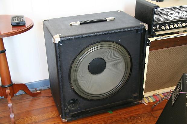 music man 1x15 1970 39 s usa speaker cabinet bass guitar cab reverb. Black Bedroom Furniture Sets. Home Design Ideas