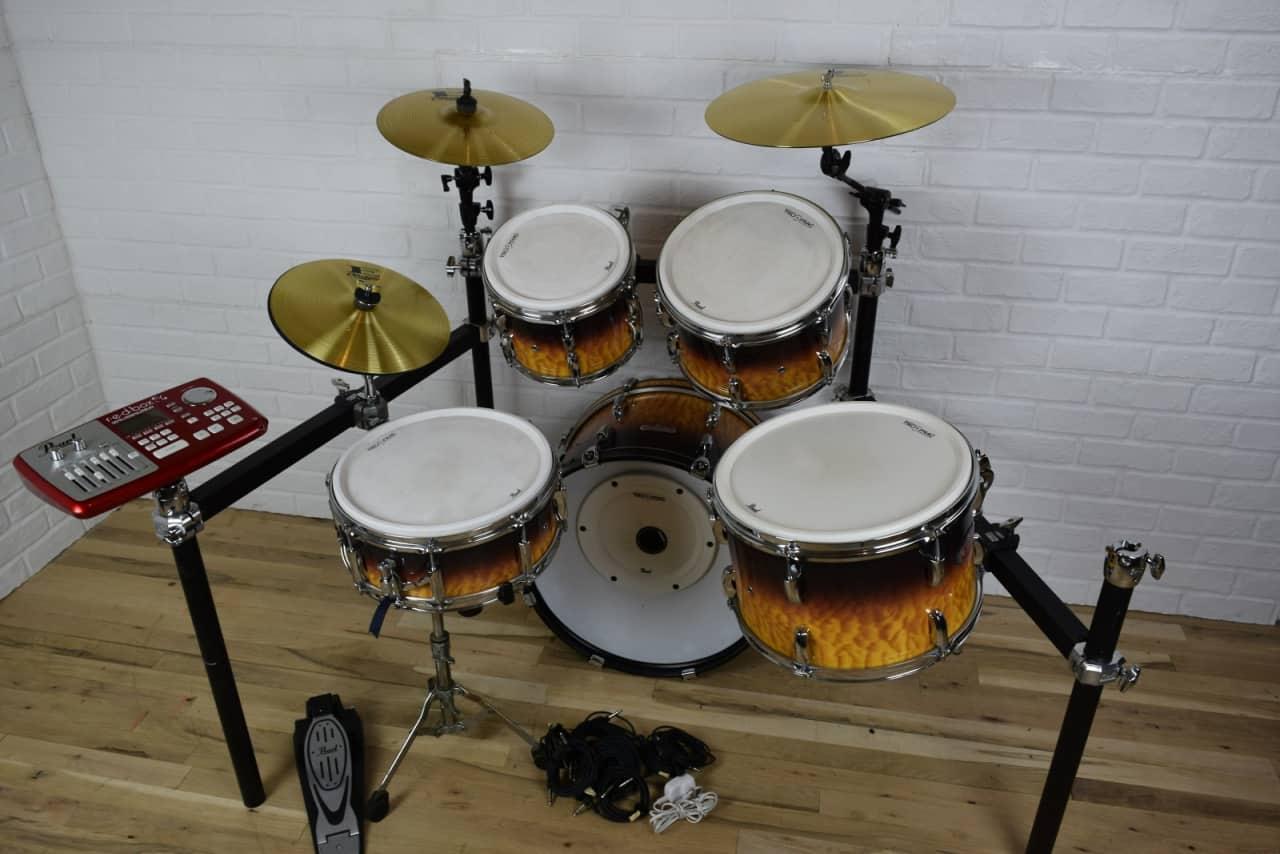 pearl e pro live digital drum set kit excellent used reverb. Black Bedroom Furniture Sets. Home Design Ideas