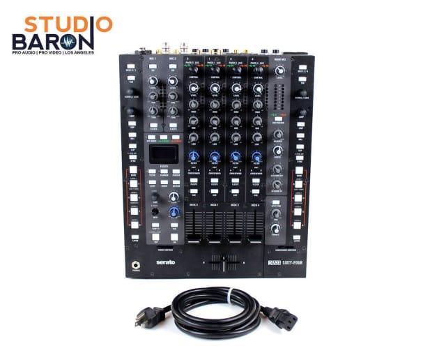 Rane 62 For Sale : rane sixty four 64 4 channel serato dj mixer reverb ~ Russianpoet.info Haus und Dekorationen