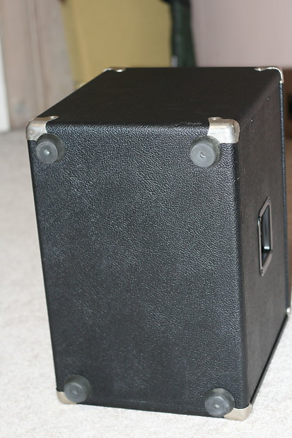 mesa boogie 1x12 thiele speaker cabinet 80 39 s black 1 reverb. Black Bedroom Furniture Sets. Home Design Ideas