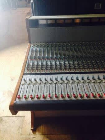 vintage analog recording mixing console wheatstone tv 1000 reverb. Black Bedroom Furniture Sets. Home Design Ideas