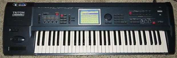 Korg triton extreme 61 keyboard synthesizer w max ram and for Korg yamaha roland