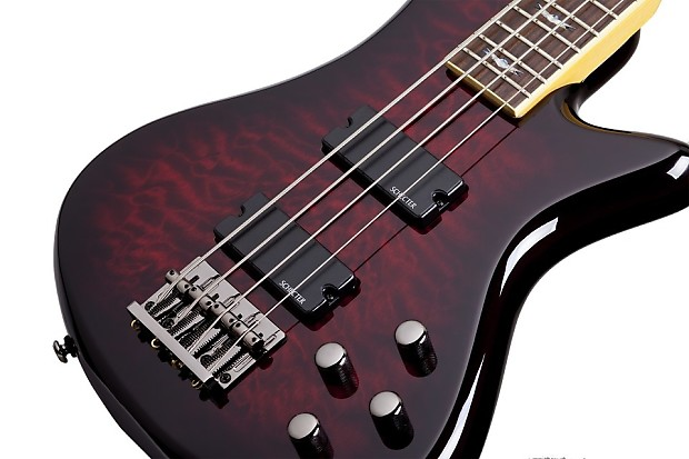 schecter stiletto extreme 4 black cherry bch new electric reverb. Black Bedroom Furniture Sets. Home Design Ideas