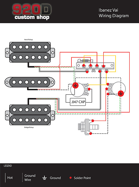 920d Custom Shop Ibanez Rt Rg Wiring Harness Crl 5