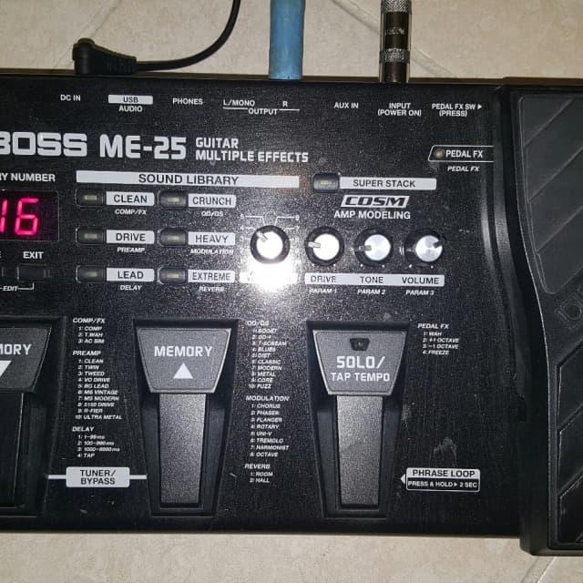 Boss ME-25 image