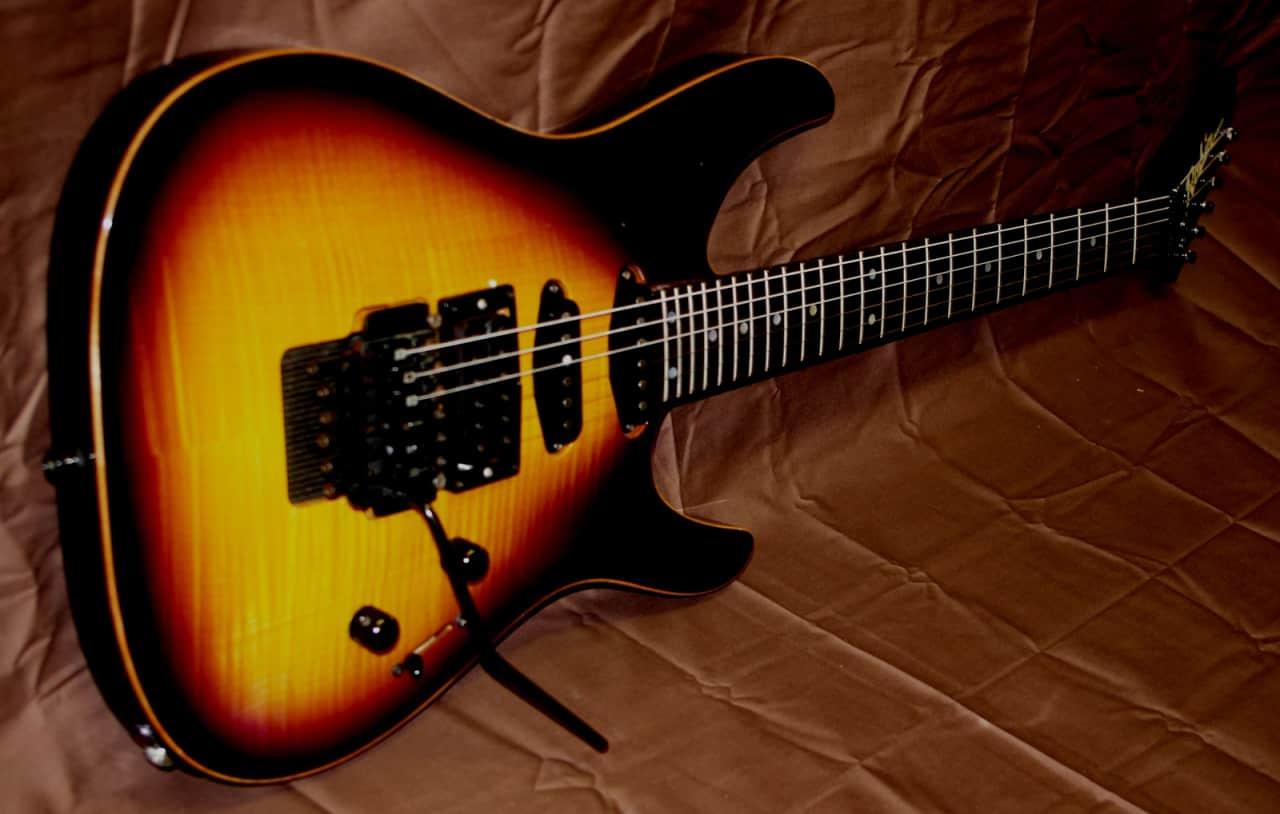 robin medley 1988 purple sunburst an iconic custom guitar by reverb. Black Bedroom Furniture Sets. Home Design Ideas