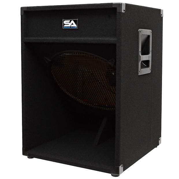 18 empty subwoofer pa dj pro audio band speaker sub reverb. Black Bedroom Furniture Sets. Home Design Ideas