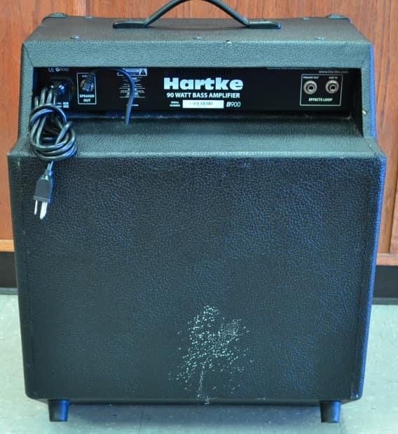 hartke b900 bass combo guitar amplifier amp 1x15 90w reverb. Black Bedroom Furniture Sets. Home Design Ideas