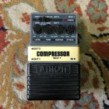 Arion Stereo Compressor SCO-1 Pedal 1980's image