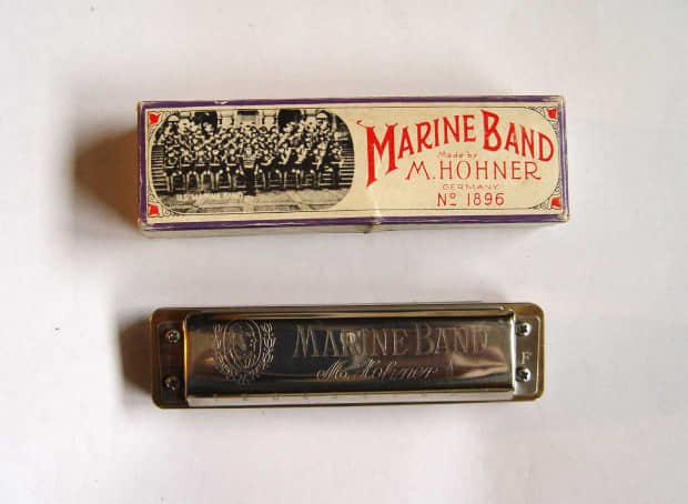 Hohner 1896 Marine Band Harmonica Key of Eb