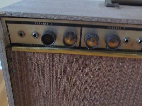 Agree, rather Vintage kent guitar amplifier with