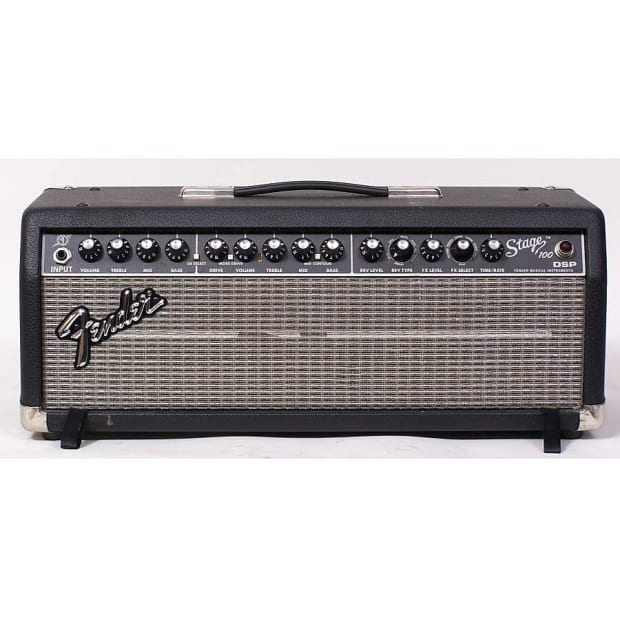 fender stage 100 solid state guitar amp head 100watts 8 ohms reverb. Black Bedroom Furniture Sets. Home Design Ideas