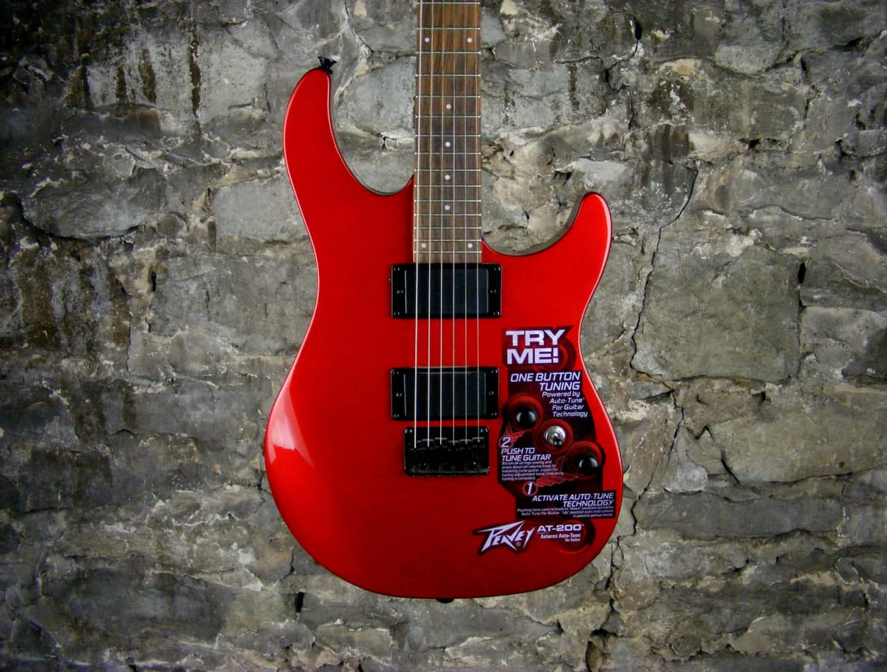 peavey at 200 auto tune guitar red reverb. Black Bedroom Furniture Sets. Home Design Ideas