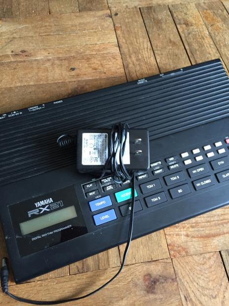 yamaha rx21 digital rhythm programmer drum machine reverb