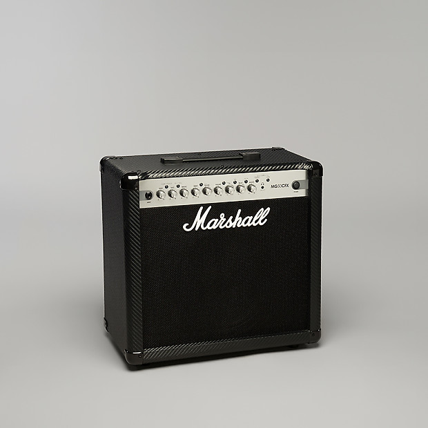 marshall mg series mg50cfx 50w 1x12 carbon fiber guitar amp reverb. Black Bedroom Furniture Sets. Home Design Ideas