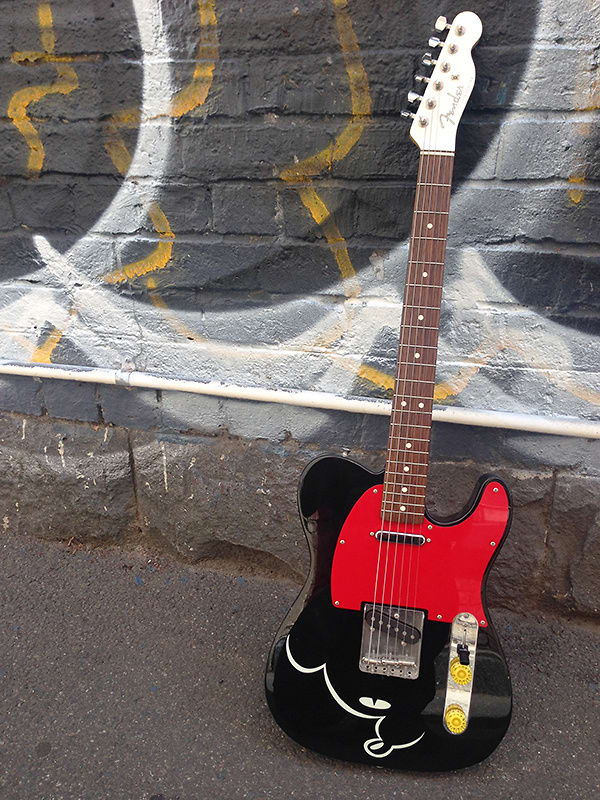 2007-2010 Fender M.I.J Mickey Mouse Telecaster Black