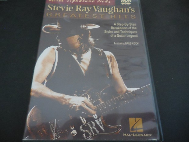 guitar signature licks stevie ray vaughan 39 s greatest hits reverb. Black Bedroom Furniture Sets. Home Design Ideas