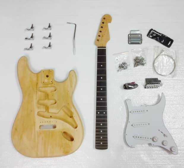 unfinished parts for electric guitar reverb. Black Bedroom Furniture Sets. Home Design Ideas