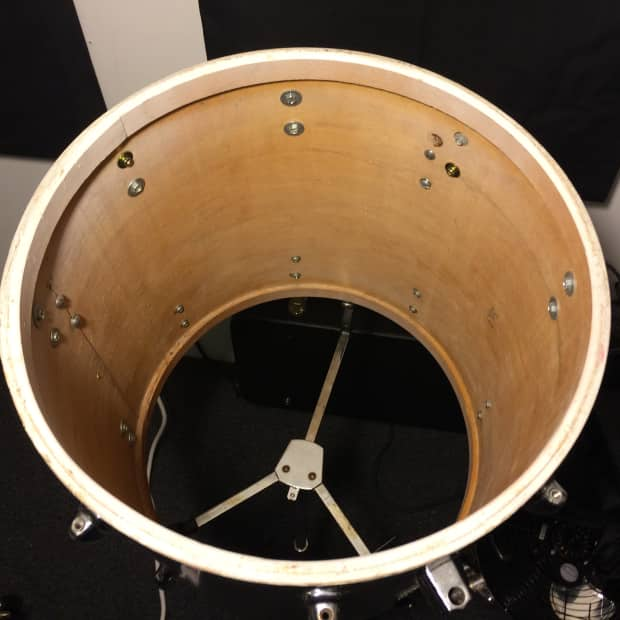 Leedy 16 floor tom shell project 1960s vintage reverb for 16 floor tom