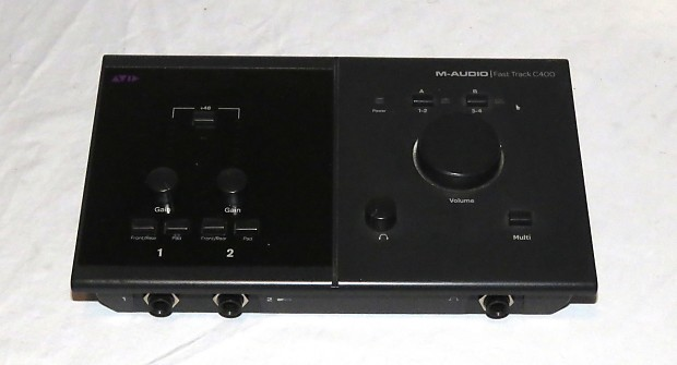 avid m audio fast track c400 usb digital audio interface reverb. Black Bedroom Furniture Sets. Home Design Ideas