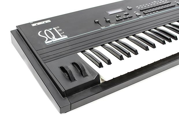 ensoniq sq1 plus digital sampling workstation keyboard reverb. Black Bedroom Furniture Sets. Home Design Ideas