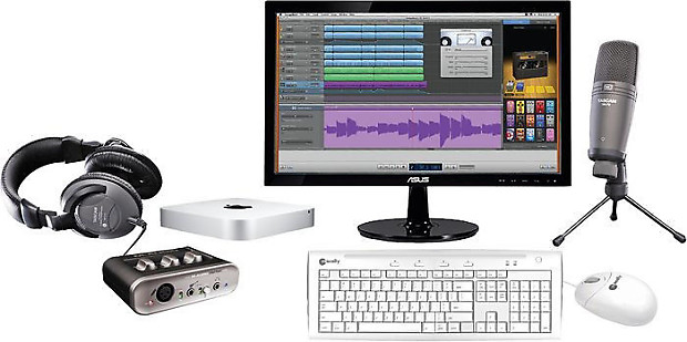 Super Apple The Complete Desktop Recording Studio Mac Mini Reverb Largest Home Design Picture Inspirations Pitcheantrous