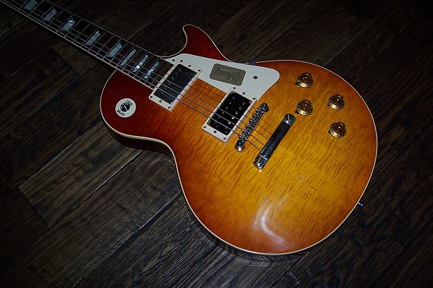 2016 gibson custom 58 les paul jimmy page 1 with push for Jimmy page les paul color