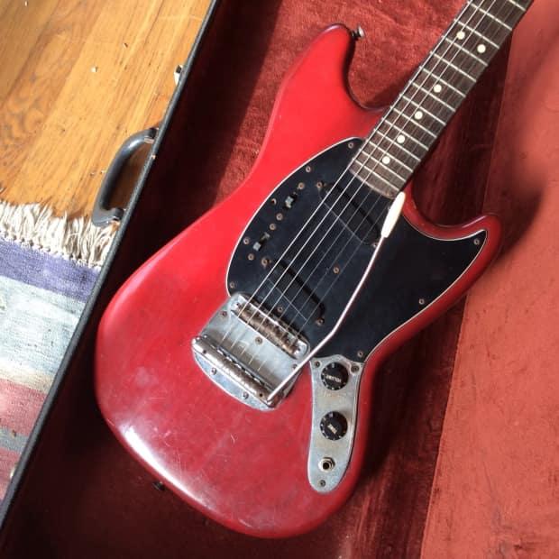 vintage fender mustang 1978 wine red electric guitar w reverb. Black Bedroom Furniture Sets. Home Design Ideas