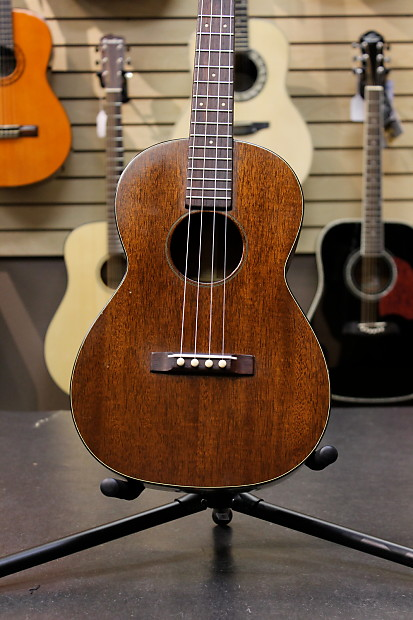 martin b51 1965 solid mahogany baritone ukulele w case reverb. Black Bedroom Furniture Sets. Home Design Ideas