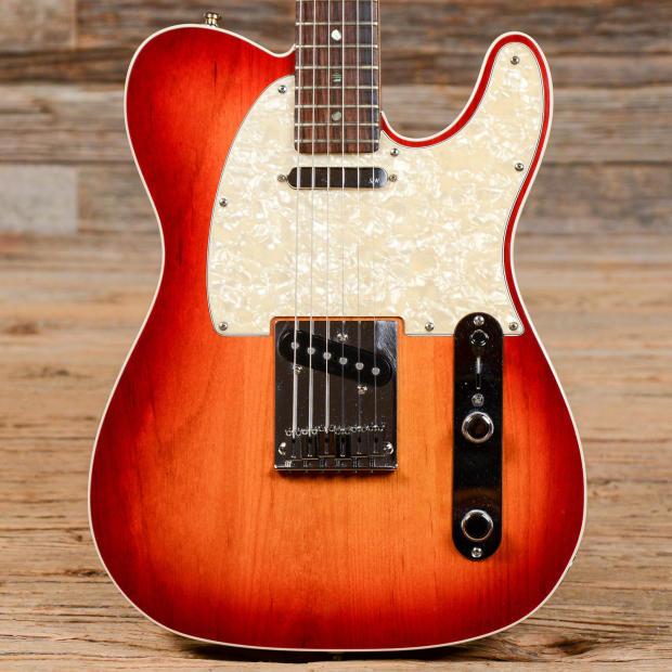 Fender American Deluxe Telecaster : fender american deluxe telecaster cherry burst used s877 reverb ~ Hamham.info Haus und Dekorationen
