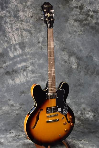 epiphone es335 the dot semi hollow body electric guitar reverb. Black Bedroom Furniture Sets. Home Design Ideas
