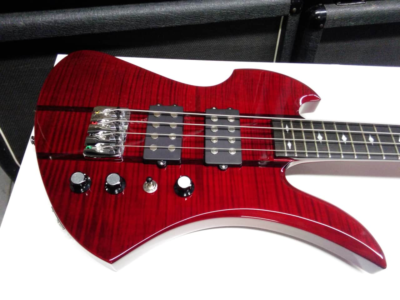 B.C. RICH Mockingbird ST Electric BASS Guitar BC | Reverb