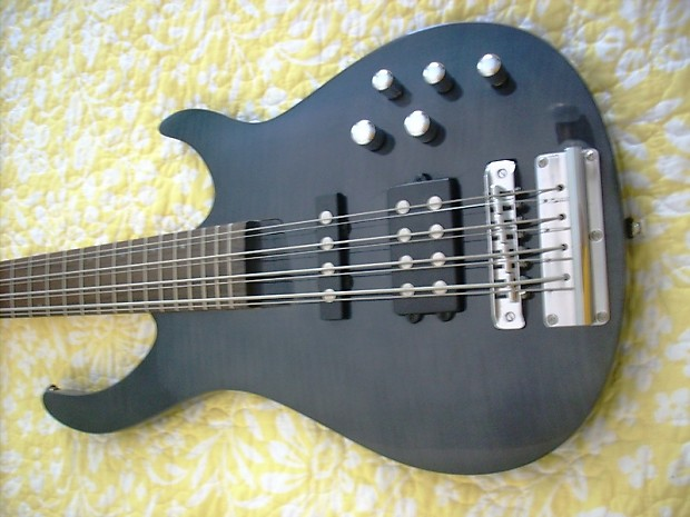 rogue 8 string bass guitar tuned in octaves reverb. Black Bedroom Furniture Sets. Home Design Ideas