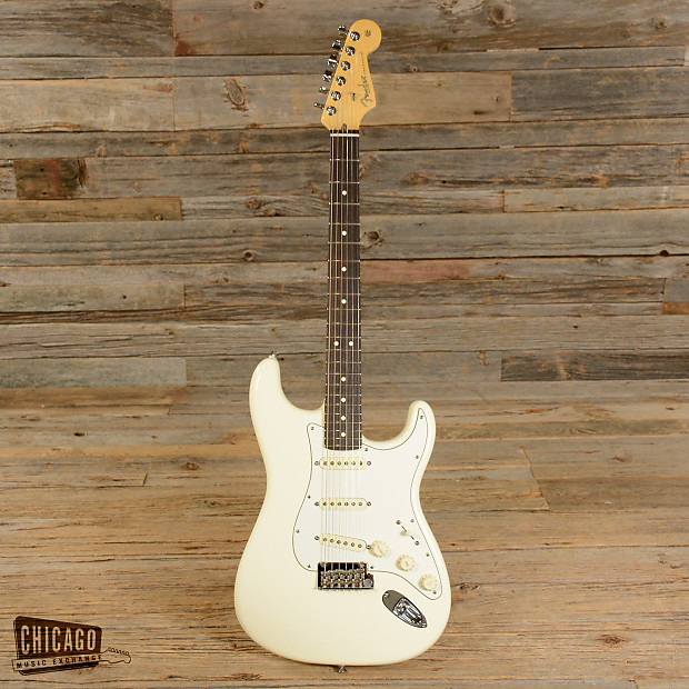 fender american standard stratocaster olympic white 2013 used reverb. Black Bedroom Furniture Sets. Home Design Ideas