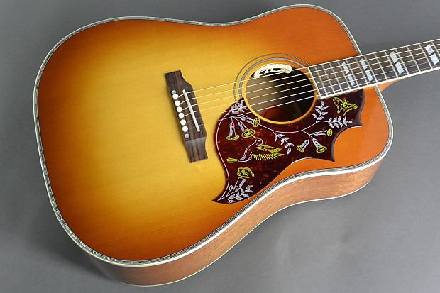 gibson hummingbird elite acoustic electric guitar heritage | reverb, Fish Finder