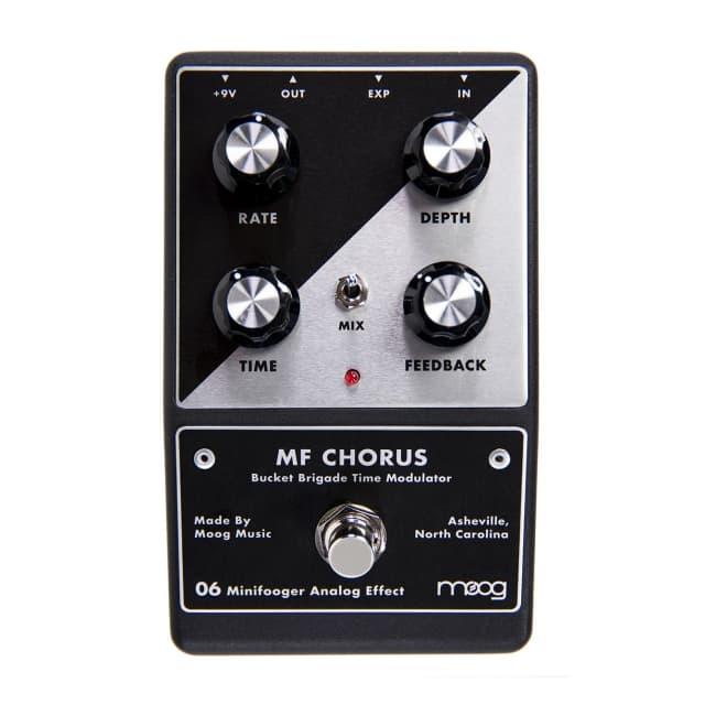 Moog Minifooger MF Chorus Analog Time Modulation Guitar Effect Pedal image