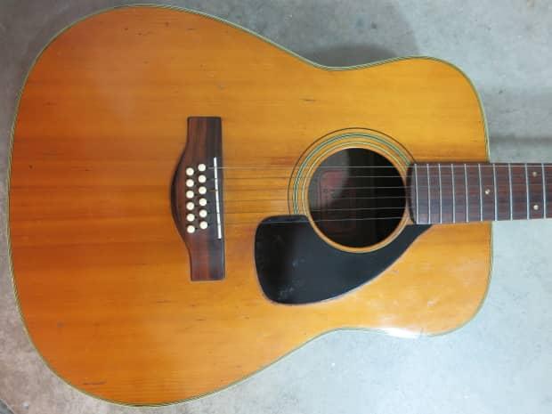 Vintage 1970s yamaha fg 230 12 string guitar acoustic red for Yamaha jr1 vs jr2