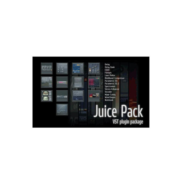 Image Line Juice Pack Delay Line Software Plugin Bundle